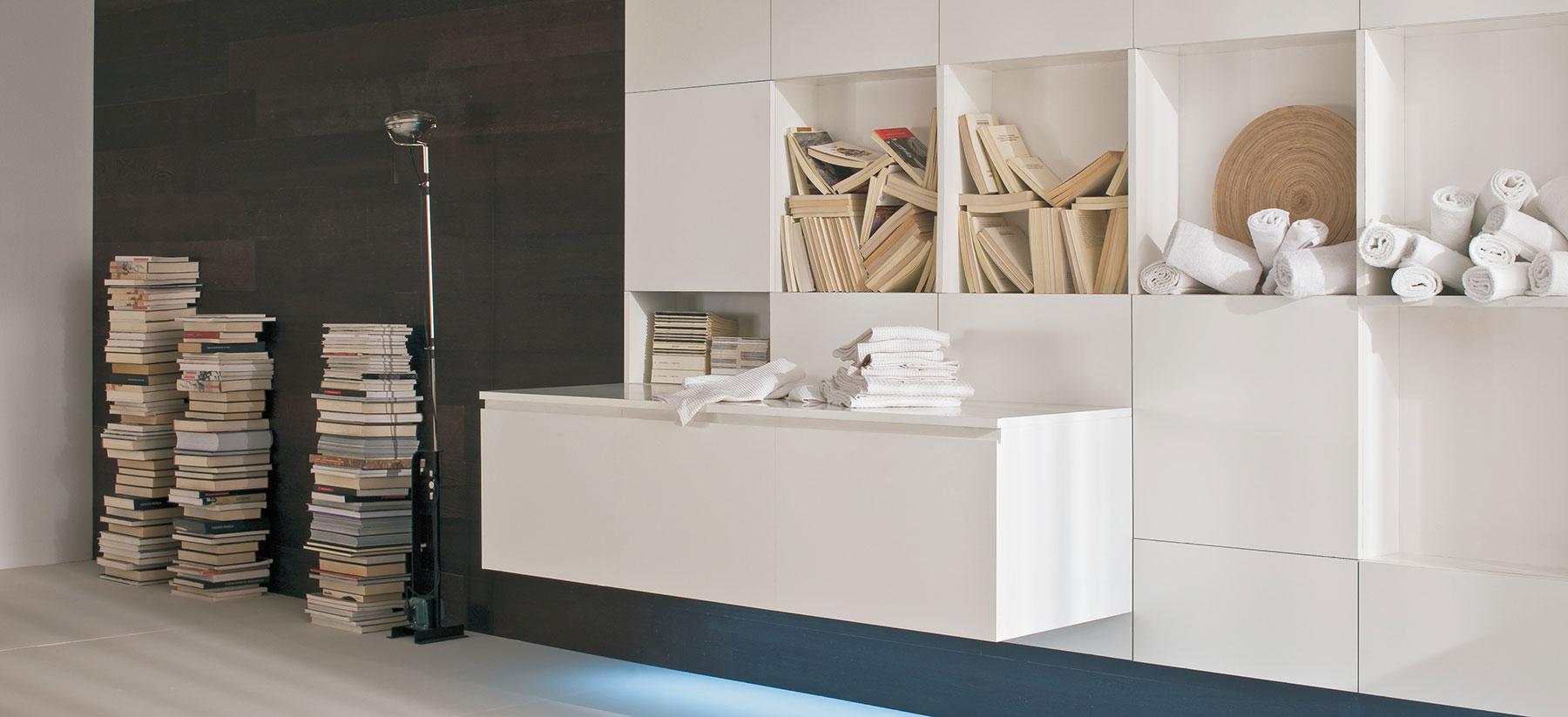 Joinery London custom shelves